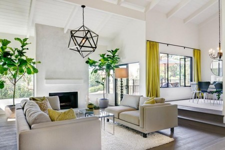 Poze Living - Decor minimalist in living