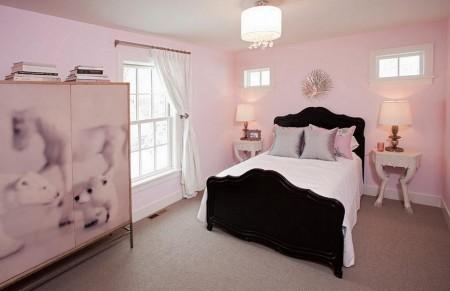 Poze Copii si tineret - Camera roz pentru fete