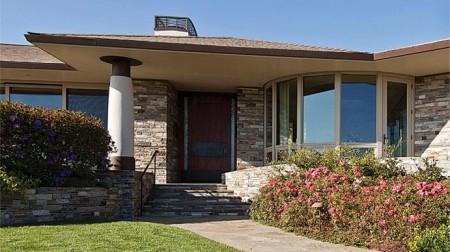 Poze Fatade - Imagine fatada Ring Mountain Residence, Sutton Suzuki Architects