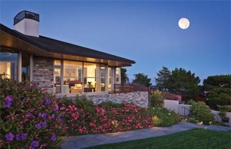 Poze Gradina de flori - Imagine gradina Ring Mountain Residence, Sutton Suzuki Architects
