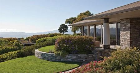 Poze Gradina de flori - Imagine amenajare gradina Ring Mountain Residence, Sutton Suzuki Architects