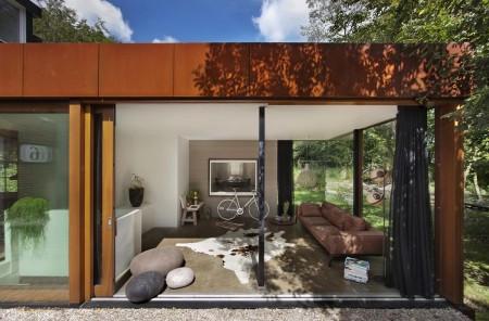 Poze Living - Imagine amenajare living Santpoort -  ZEC Architects