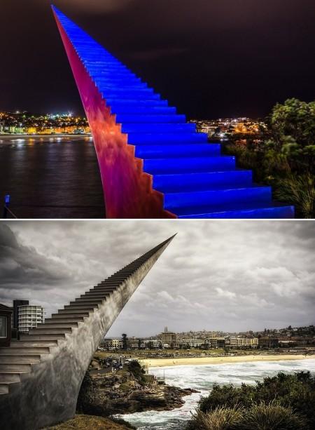 Poze Haioase - Scara infinita a sculptorului David McCracken