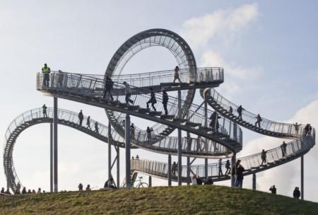 Poze Haioase - Scara roller coaster