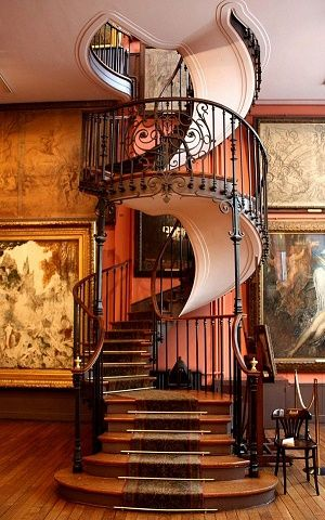 Poze Scari - scara-spirala-muzeu-gustave-moreau-paris.jpg