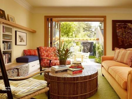 Poze Living - Living modern cu deschidere spre gradina