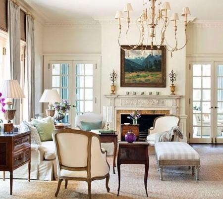 Poze Living - Stilul clasic autentic
