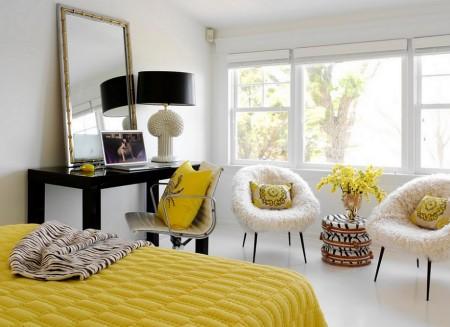 Poze Dormitor - Decor proaspat in dormitor, de primavara