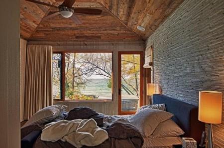 Poze Dormitor - Dormitor momdern cu finisaje naturale