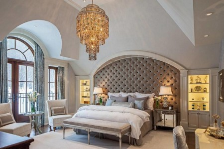 Poze Dormitor - Dormitor glamour