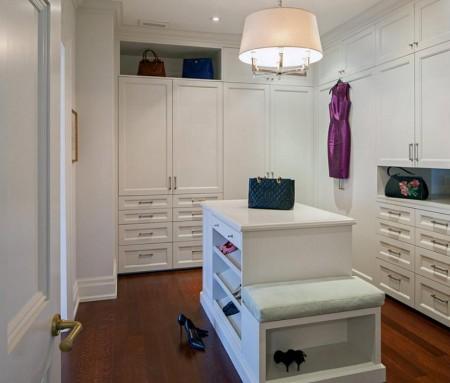 Poze Dressing - Mobilier alb pentru dressing