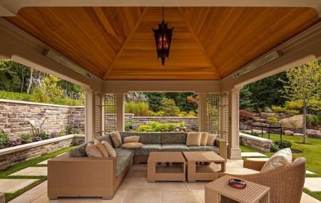 Poze Foisor si pavilion - Pavilion luxos din lemn