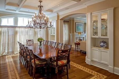 Poze Sufragerie - Sufragerie luxoasa amenajata in stil clasic
