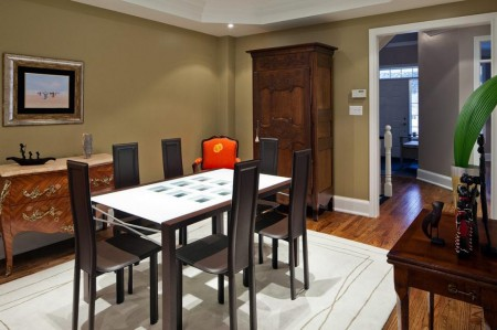 Poze Sufragerie - Amenajare eclectica a sufrageriei