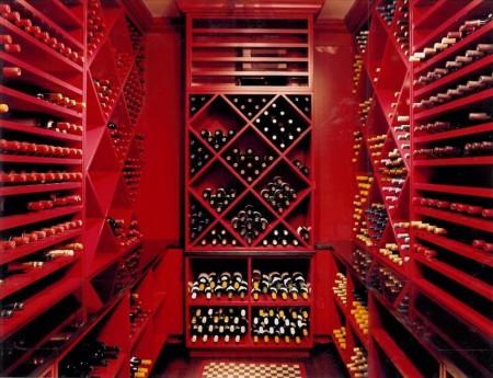 Poze Crama si pivnita - Mobilier rosu pentru crama