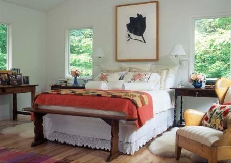 Poze Dormitor - Lenjerie de pat lucrata manual