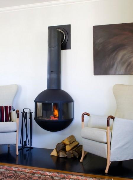 Poze Seminee - Semineu modern, deopotriva decorativ si functional