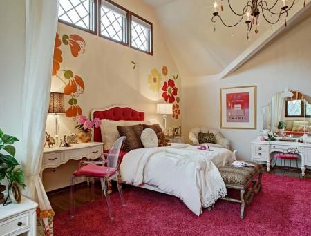 Poze Dormitor - Un dormitor pe placul reprezentantelor sexului frumos