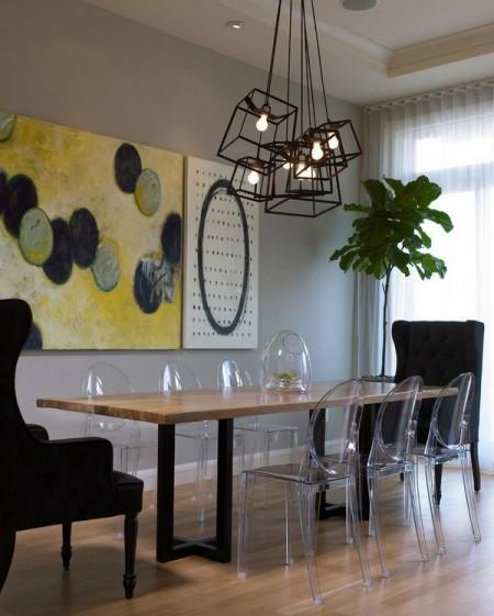 Poze Sufragerie - Loc de servit masa amenajat modern