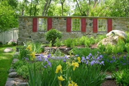 Poze Garduri si porti - Gardul cu ferestre