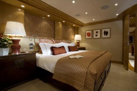 Poze Dormitor - Dormitor luxos pe yacht-ul Slojo