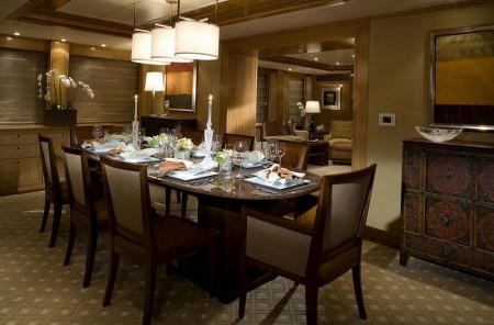 Poze Sufragerie - Sufrageria yacht-ului Slojo