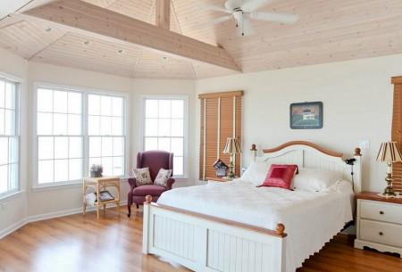 Poze Dormitor - Dormitor clasic bicolor