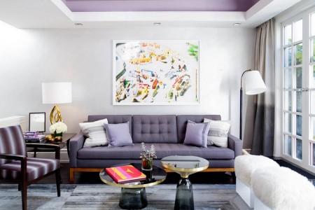 Poze Living - Lavanda, inspiratia acestui living eclectic
