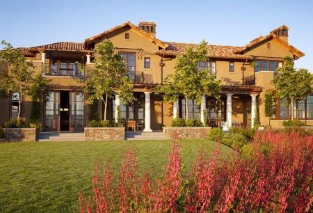 Poze Fatade - Fatada vila in stil mediteranean Soda Canyon Residence, BAR Architects
