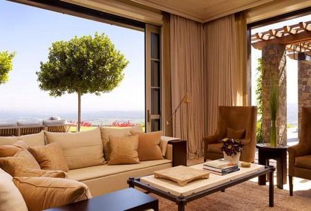Poze Living - Amenajare living Soda Canyon Residence, BAR Architects