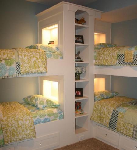 Poze Copii si tineret - Amenajare camera pentru patru copii