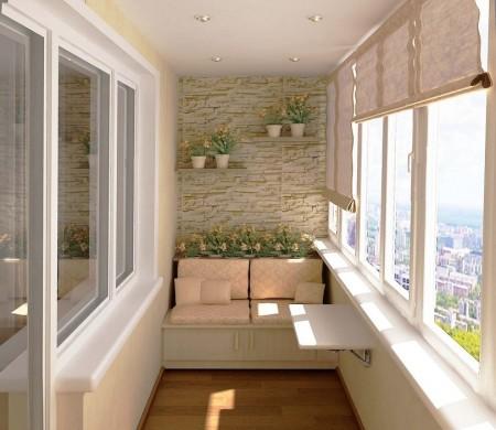 Poze Balcon - In spatiile mici pastrati decorul cat mai simplu si aerisit