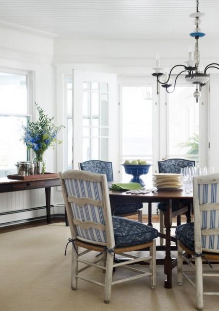 Poze Sufragerie - Decor retro pentru sufragerie