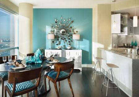 Poze Sufragerie - Accente de culoare