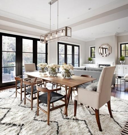 Poze Sufragerie - Decor modern pentru zona de luat masa