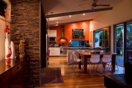 Poze Sufragerie - Sufragerie moderna, deschisa