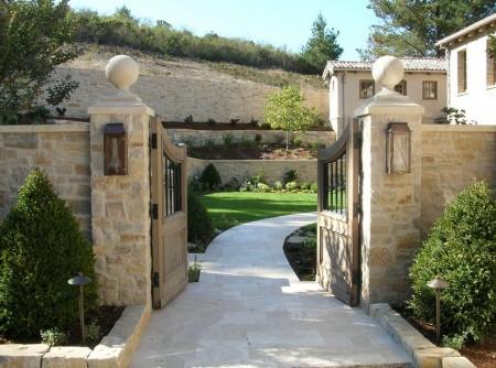 Poze Garduri si porti - Gard si terasamente din piatra naturala