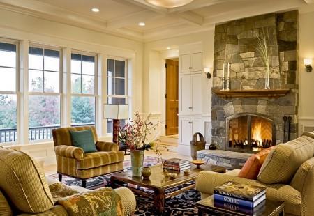 Poze Living - Living clasic - Smith&Vansant Architects