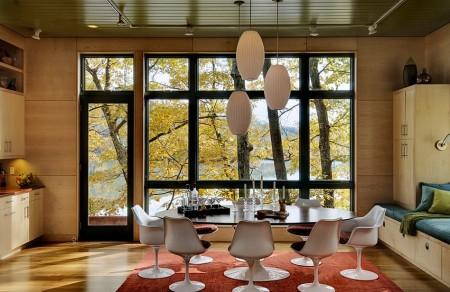 Poze Living - Interior casa de vacanta moderna