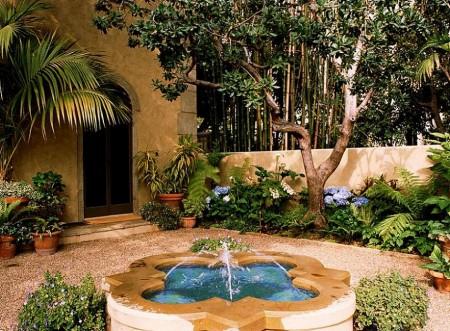 Poze Gradina de flori - Gradina in stil mediteranean