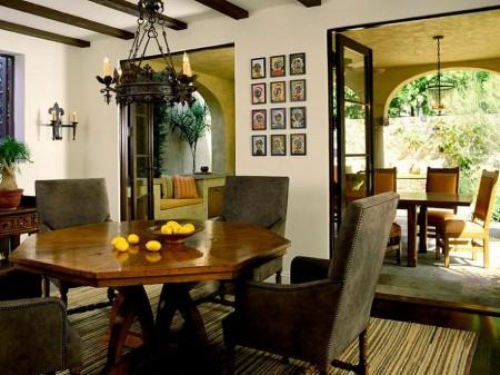 Poze Sufragerie - Decor mediteranean in sufragerie