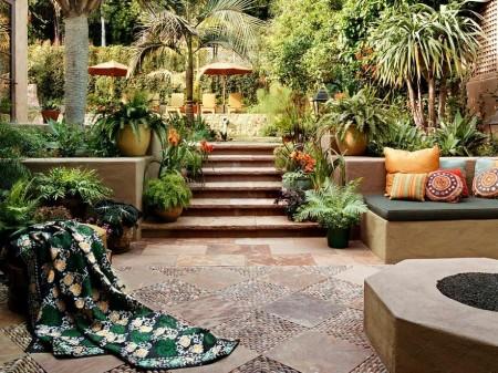 Poze Terasa - Amenajare terasa in stil mediteranean