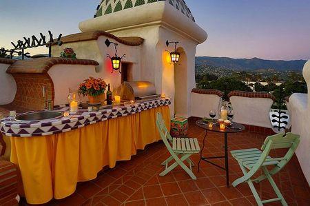 Poze Terasa - Terasa stil mediteranean-marocan pe acoperis