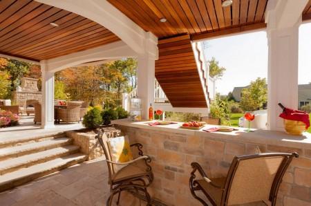 Poze Terasa - O terasa acoperita poate deveni cel mai placut loc al casei in sezonul cald