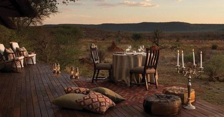 Poze Terasa - Decor pentru o cina romantica pe terasa