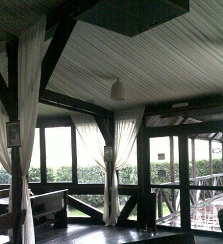 Poze Terasa - Terasa de lemn, terasa - restaurant pe structura de lemn