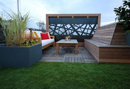 Poze Terasa - Loc de relaxare amenajat pe un acoperis-terasa