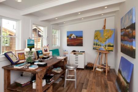 Poze Birou si biblioteca - Atelierul de pictura