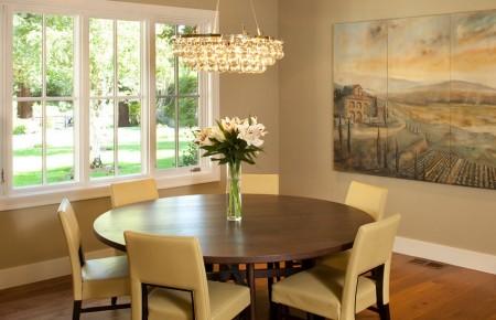 Poze Sufragerie - Sufragerie clasica cu o cromatica calda