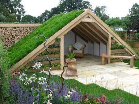 Poze Foisor si pavilion - umbrar-acoperis-verde.jpg